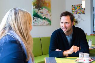 Jungunternehmer: Philipp Stoimaier im Gespräch mit der WOCHE.