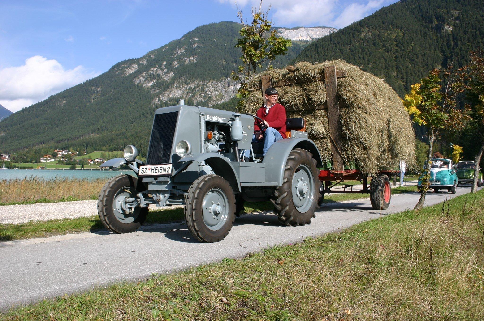 ABGESAGT: Traktortreffen Maurach am Achensee
