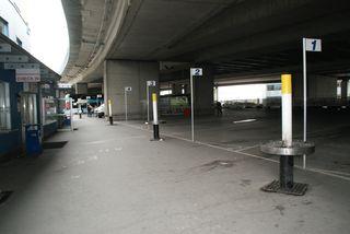 Der Busbahnhof in Erdberg ist alles andere als einladend. Wird an der selben Stelle bald ein neuer, moderner Terminal gebaut?