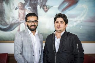 Ahmad (li.) und Ali wurden für ihre Zivilcourage geehrt.