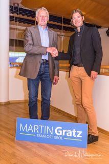 Martin Gratz und Joachim Deferegger.