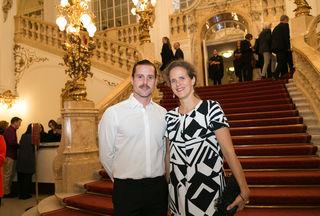 Ben Baur und Nora Schmid
