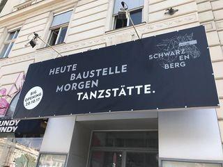 Am 20. Oktober wird eröffnet: Der neue Club Schwarzenberg befindet sich am Schwarzenbergplatz 7.