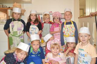 Die kleinen Kids des Kindergarten Käferkreuzgasse.