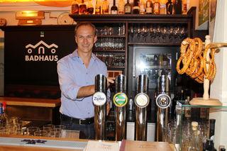 Herbert Karer ist Gastwirt im Badhaus Mattighofen.
