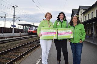 Helga Krismer, Heidi Sdorra und Ulli Fischer.