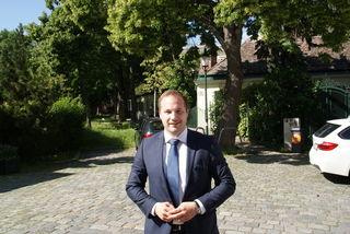 ÖVP-Politiker Daniel Resch (33) ist derzeit Bezirksvorsteher-Stellvertreter in Döbling.