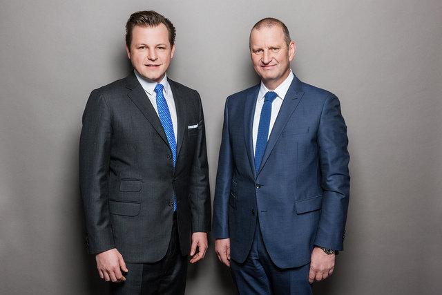 Die RMA-Vorstände Mag. Georg Doppelhofer (li.) und Gerhard Fontan.
