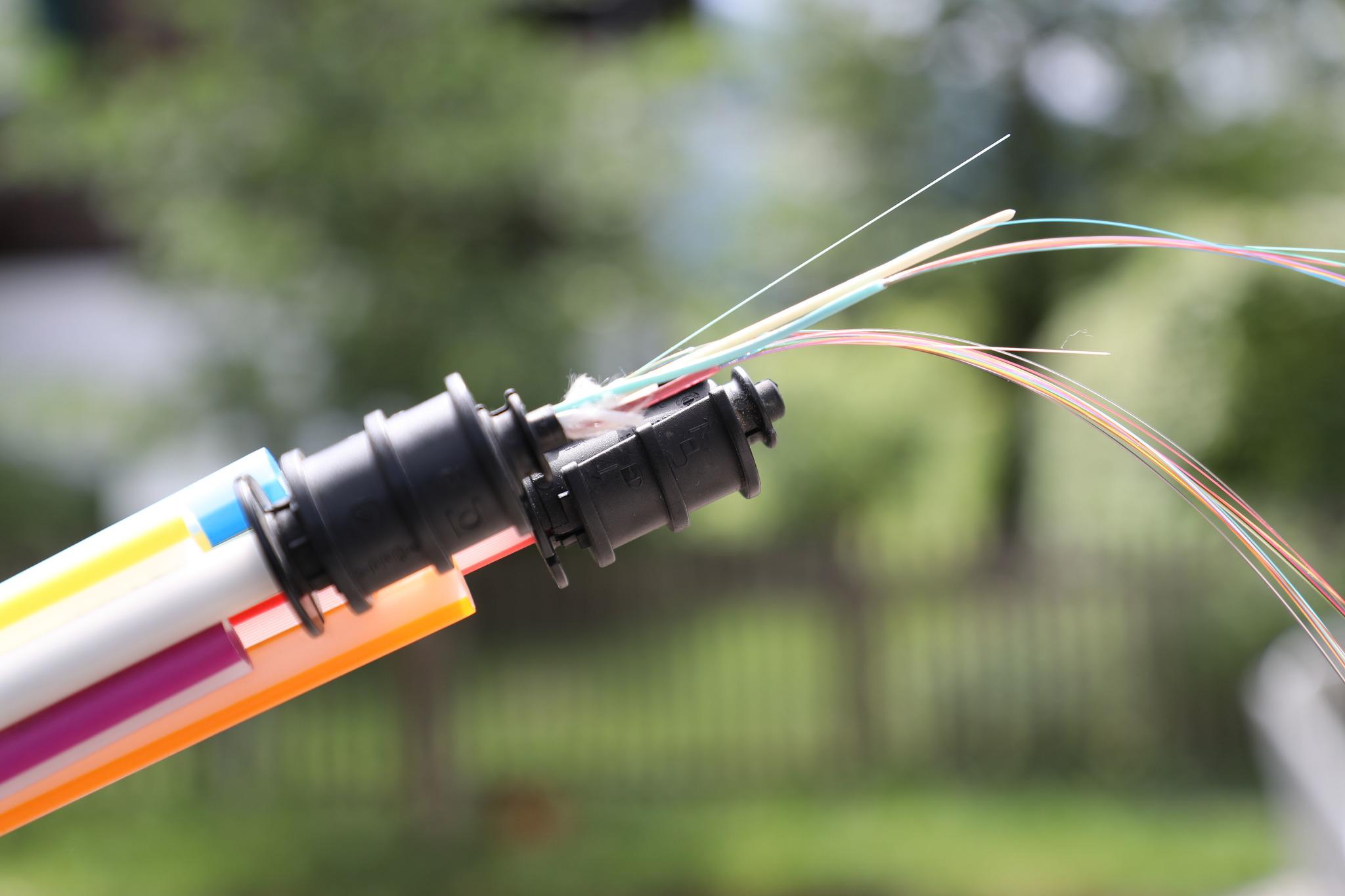 Breitband Internetverbindung