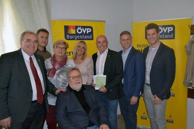 Vizekanzler Wolfgang Brandstetter hielt einen Vortrag in Oberwart