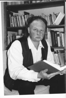 Der Autor und Verleger Franz Steinmaßl bei der Recherche zu seinem Buch 1991.