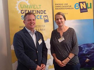 Umweltgemeinderat Leopold Spitzbart traf Klimaforscherin Helga Kromp-Kolb.