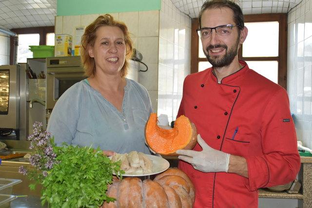 Luggale-Wirte: Andrea und Michael Roscher führen seit 20 Jahren das Gasthaus. Die Ideen gehen ihnen nicht aus