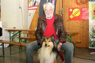 """""""Lassie"""" Kira (Collie) ist ein ausgebildeter Therapiehund."""
