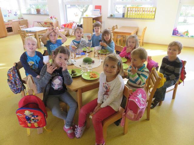 Im Kindergarten Moschendorf ist Kleingruppenbetreuung möglich.