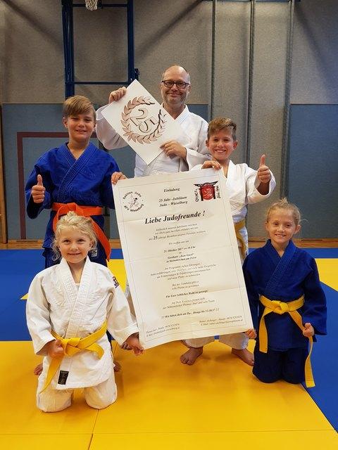 """Die Judokas aus Wieselburg freuen sich auf ihr großes Jubiläumsfest im Gasthaus """"Zum Gassl"""" in Steinakirchen am Forst."""
