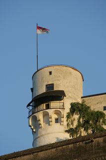 Der Turm befindet sich im Besitz der Stadt Salzburg.