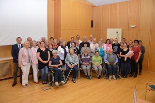 Vertreter von 20 Selbsthilfegruppen waren am Landesklinikum Waidhofen zu Gast.