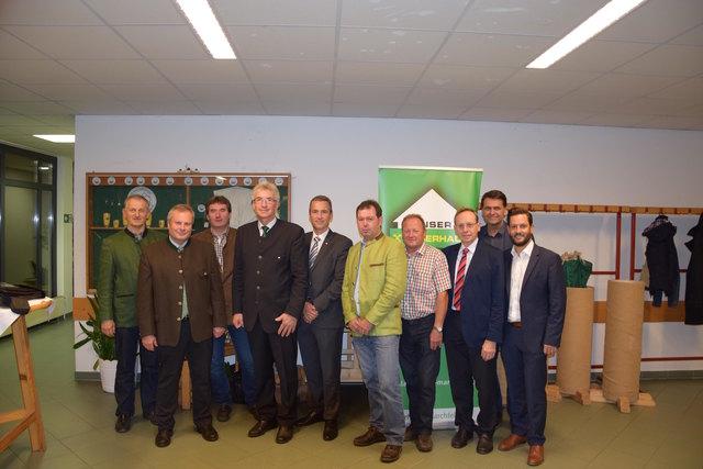 Obmann Johann Lang und Geschäftsführer Rudolf Brandhuber präsentierten die äußerste zufriedenstellenden Zahlen.