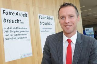 Salzburgs neuer ÖGB-Landesvorsitzender Bgm. Peter Eder.