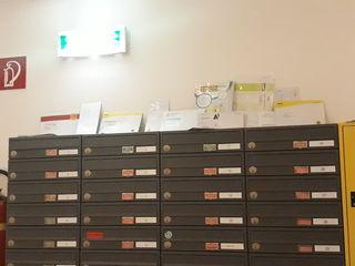 Diese Sendungen standen für jeden zugänglich am Postkasten.