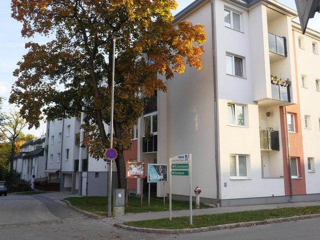 Das Mordhaus an der Triesterstraße.