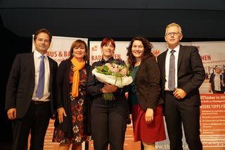 Juliane Hummel wurde für ihren besonderen Einsatz ausgezeichnet.