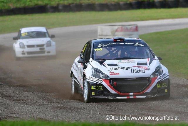In der Division Rallycross 2WD zählt Lokalmatador Erwin Frieszl mit seinem Peugeot 208 zu den Favoriten.