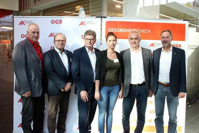 Gesundheits-Check im City Center: Die Organisatoren waren von dem großen Andrang in Wieselburg begeistert.