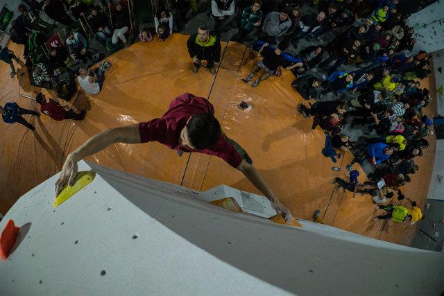 Die Boulder-Landesmeisterschaften werden in Bad Ischl ausgetragen.