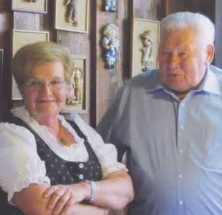 Theresia und Franz Halvax feierten ihre Goldene Hochzeit