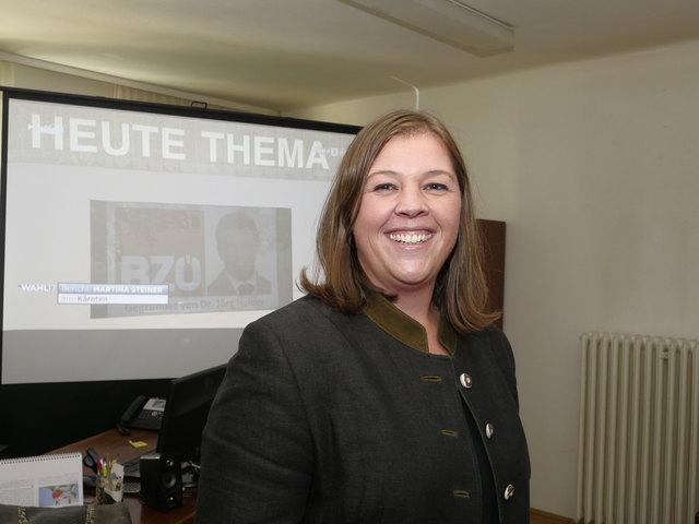 Charlotte Benedikt, ÖVP Pitten.