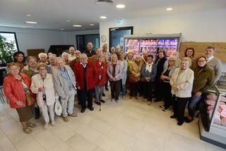 Wiener Senioren zu Besuch bei Schinken Berger.