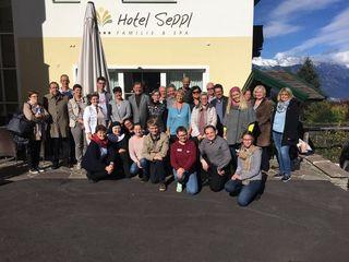 Die Mitglieder der Pfarrgemeinderäte des Seelsorgeraums begaben sich zwei Tage in Klausur.