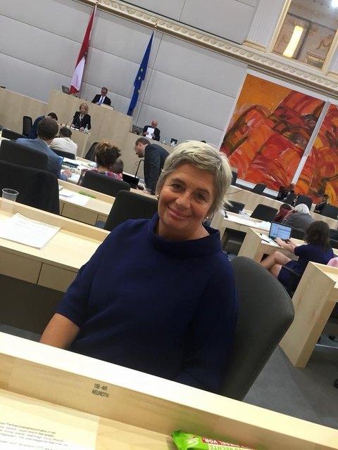 Die bisherige Gesundheitssprecherin der Grünen, die Psychotherapeutin und Stadträtin Eva Mückstein, Bad Vöslau, wird in der kommenden Nationalratsperiode nicht mehr als Abgeordnete im Parlament vertreten sein.
