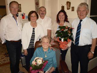 Anna Langer feierte ihren 95. Geburtstag.