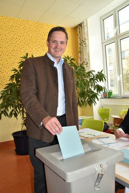 Nationalratswahl-Kandidat Johannes Schmuckenschlager.