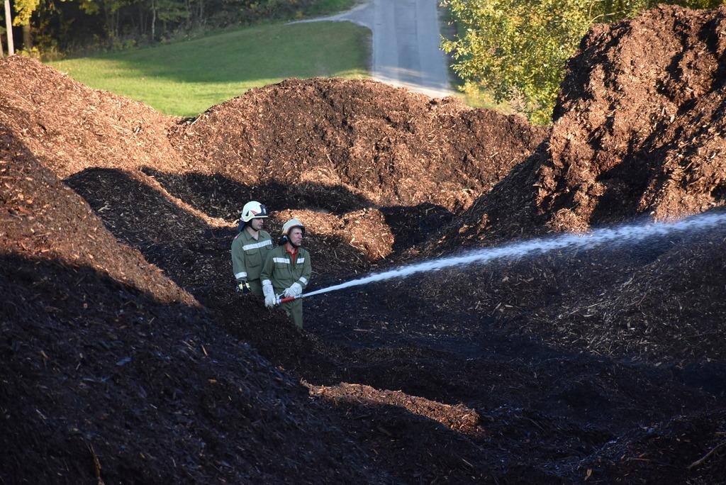 Die Pabneukirchner Feuerwehren standen von Freitag-Abend bis Sonntag-Früh durchgehend im Einsatz.