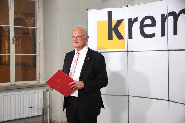 Reinhard Resch bleibt Bürgermeister in der Stadt Krems.