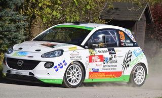 Der Brodingberger Christoph Lieb konnte bei der Rallye Liezen gleich zwei Erfolge verbuchen.