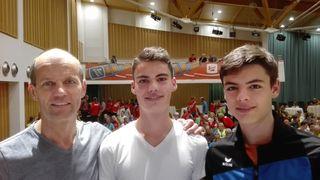Helmut, Tobias und Daniel Rattinger (v. l.).