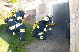 Übungsannahme: Ein Brand in einem Wirtschaftsgebäude