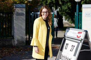 Carmen Jeitler Cincelli vor der Wahl