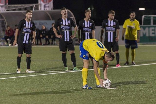 Zwei Mal traf Christian Dengg gegen die LASK Juniors aus einem Elfmeter.