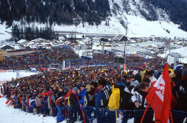 Die Ski-WM 2001 bleibt in St. Anton am Arlberg vorläufig das letzte Großereignis.