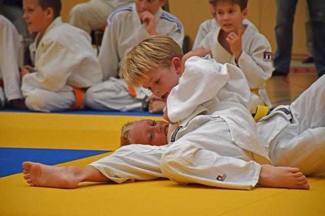 Vollste Konzentration war bei den jungen Judosportlern beim Vulkanland-Cup in Feldbach angesagt.