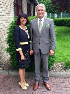 Alfred Bohnert mit seiner Frau Gabriella (Foto: JZ)