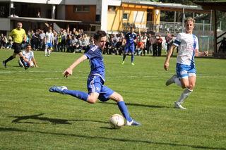 Auch Marco Klingenschmids (im Bild/Archiv)  Treffer zum zwischenzeitlichen 1:1, konnte die Schönwies-Niederlage gegen den SV Mils nicht abwenden.