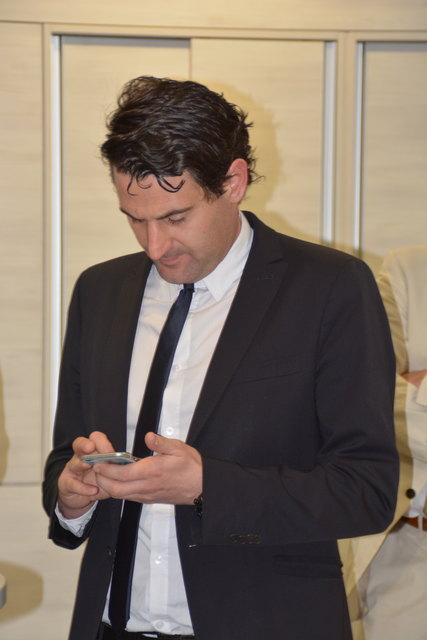 Wartet und hofft: Christoph Zarits (ÖVP) aus Zagersdorf.