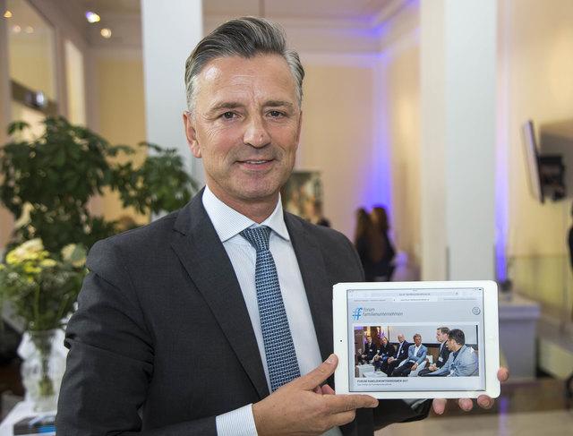 Werner Zenz, Vorstandssprecher im Bankhaus Spängler